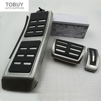 Gas Brake Foot Rest Fuel Pedals For AUDI S4 RS4 A5 S5 RS5 8T A6 4G