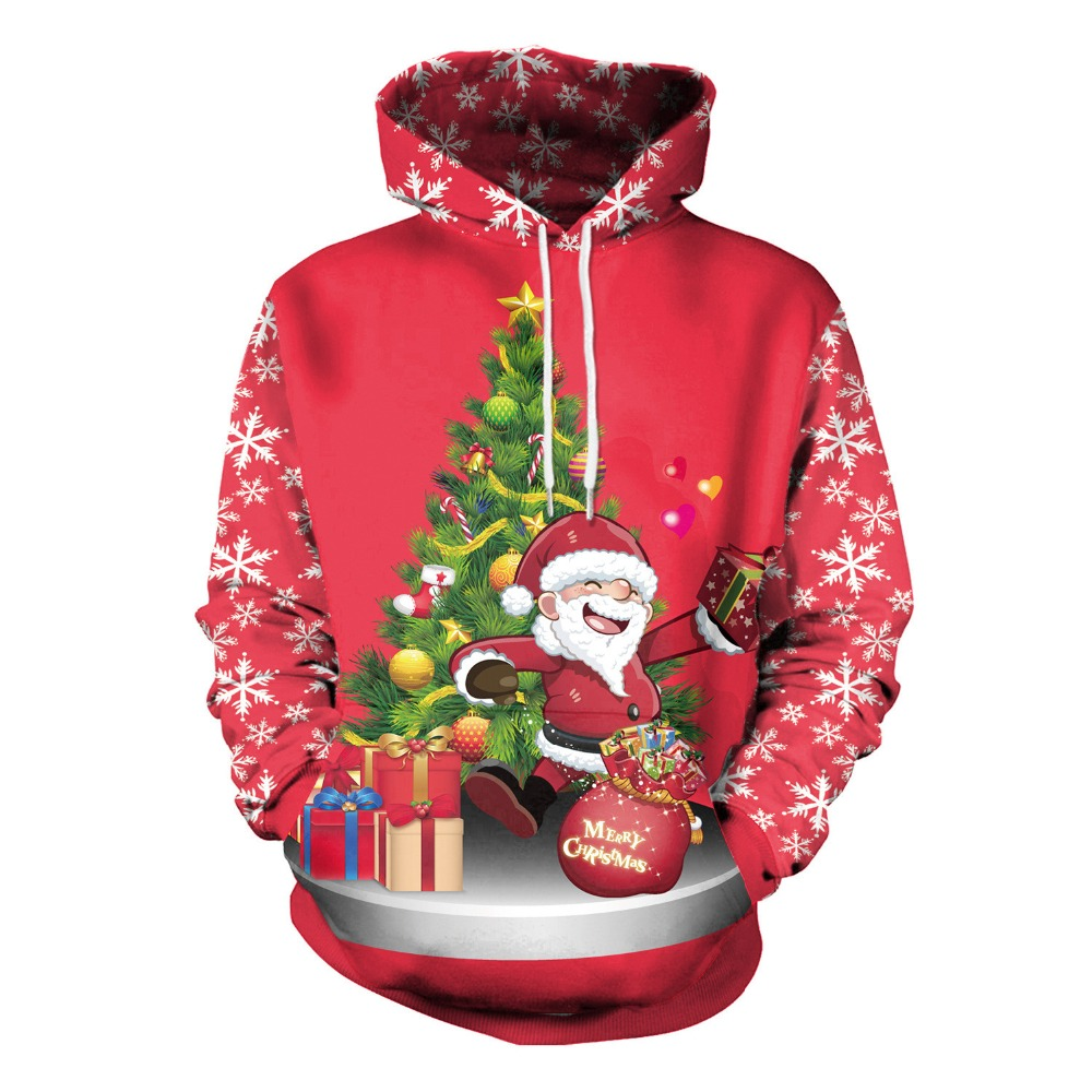 Unisex Men Women  CHRISTMAS  Sweatshirts Vacation Santa Elf Funny Womens Men hoodies Tops Autumn Winter costume