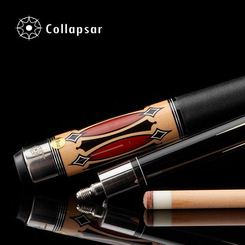 Collapsar CA 1/2 split billiard Pool cue nueve Bola brazo 147 cm billar Palos Arce eje 19 oz envío libre - 4
