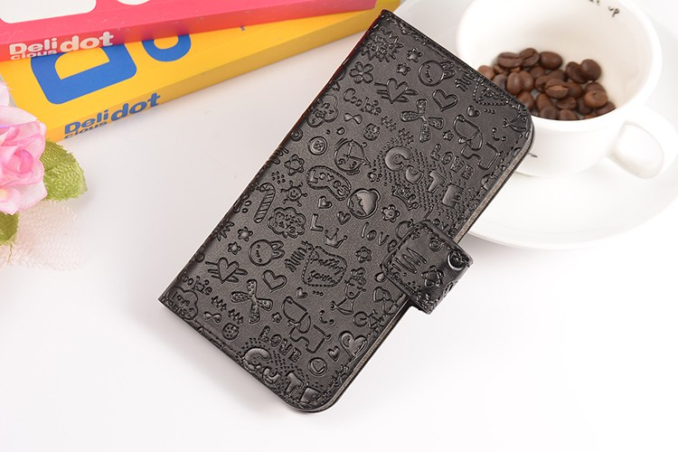 Magic Girl Cute PU Leather Case Cover Samsung galaxy Ace 4 ace4 G313 G313H Cases Holder & Credit Card Slots - Girls-Hua Qiang Bei Brand Products store