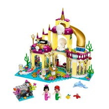 BELA The Mermaid Princess Ariel s Undersea Palace Building Blocks For Girl Kids Friends Toys Marvel