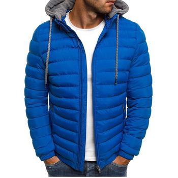 8ab79bbe311 New Mens Fashion Winter Coat Men Hooded Jacket Cotton Casual mens ...