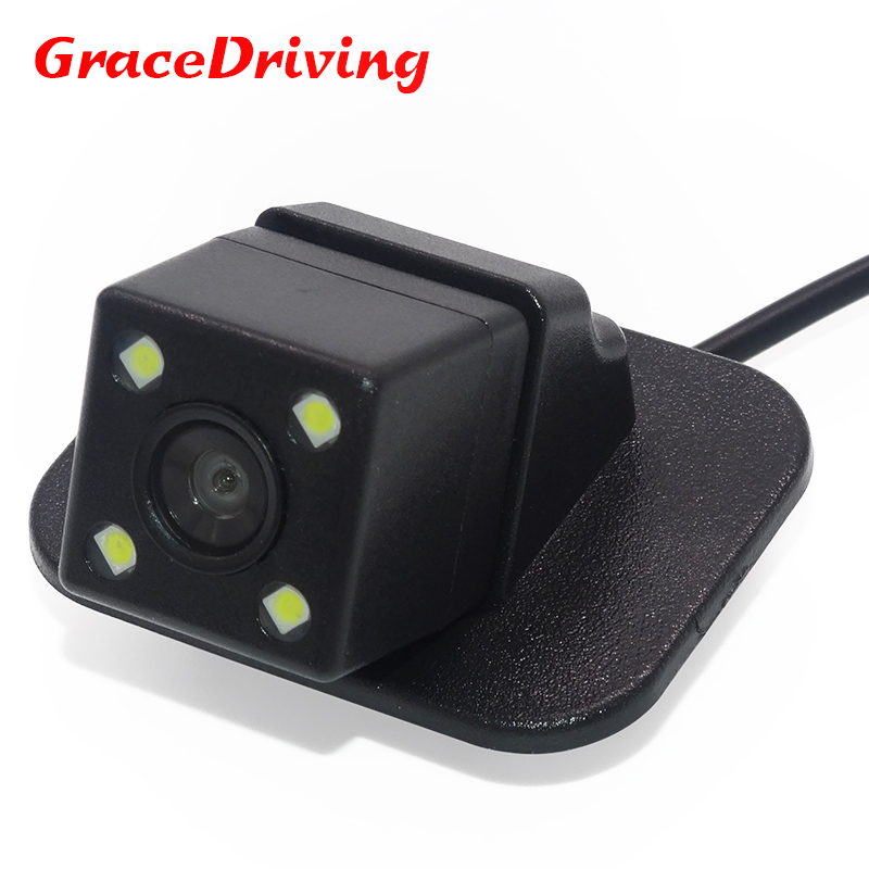 CCD night vision 4 LED Car Rear View Reverse Camera For font b Mazda b font
