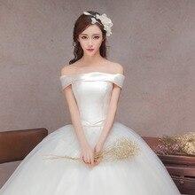 strapless boho korean font b wedding b font 2016 bride dress simple sheap font b bridal