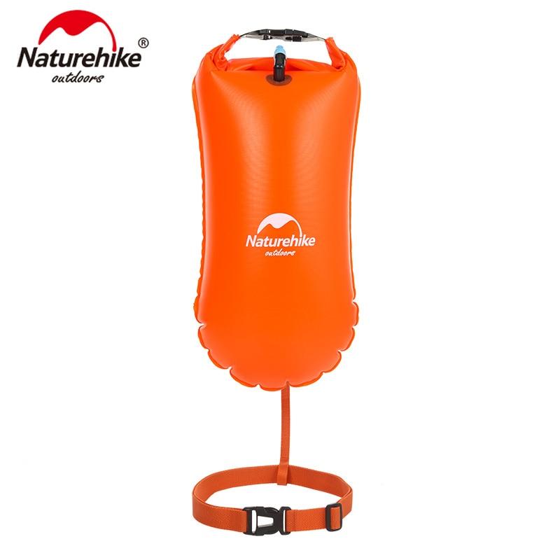 Naturehike Inflatable Waterproof Bag Snorkeling Swimming Bag Outdoor Swimming Equipmen Dry Bag NH17G003-G