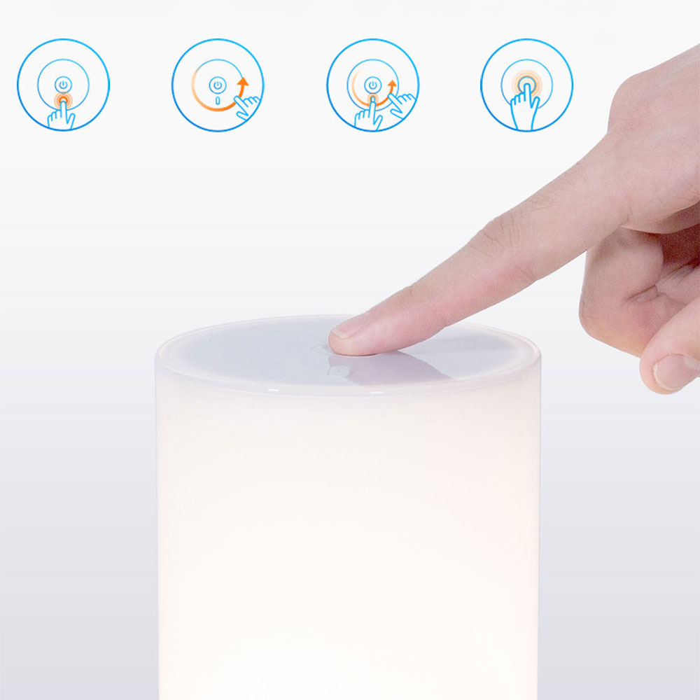 Image 4 - Yeelight Xiaomi Bedside Lamp MJCTD01YL LED Light Table Desk Lamp Smart Light Touch Control Bluetooth Connection for MiHome APP-in Smart Remote Control from Consumer Electronics