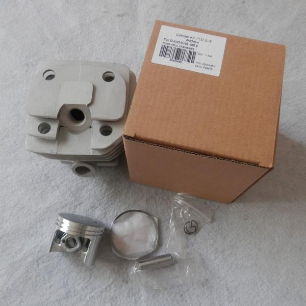 48cc CYLINDER KIT 43MM FOR SHINDAIWA CHAINSAW 488 47.9CC CHAIN SAW ZYLINDER PISTON RING PIN CLIP REPL. OEM # 22157-12110 cylinder kit 42mm for st chainsaw 024 ms240 chain saw zylinder piston ring pin clips kolben repl 1121 020 1212