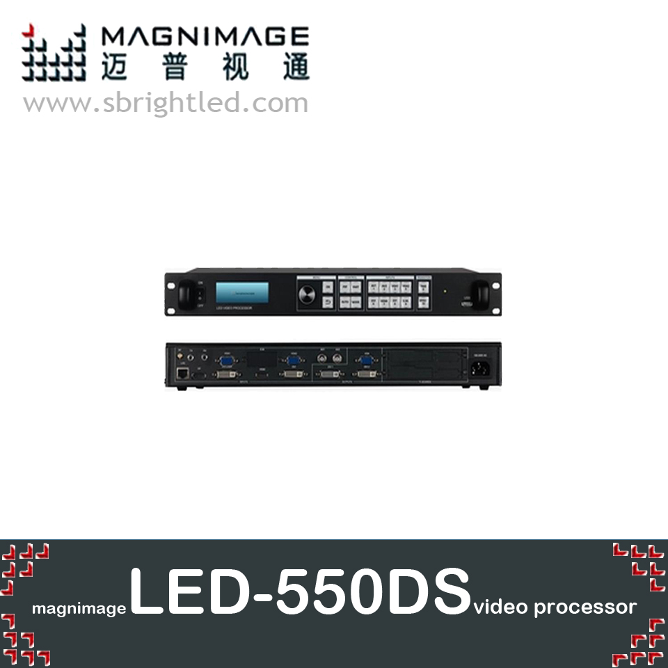 MAGNIMAGE LED-550DS LED Video Processor with SDI input for LED RGB full color screen support ts802 msd300 it7 s2 dbstar freeship