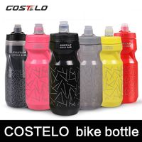 Costelo Cycling Club Cycling Bike Bicycle Water Bottles Outdoor Sports Water Bottle 710ml Flask School Pressing