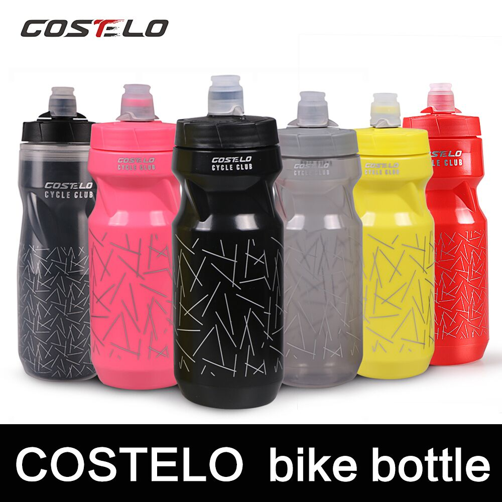 Costelo cycling Club Cycling Bike Bicycle Water Bottles Sports Water Bottle 710ml Magnetic bottle mount Water Bottle Golf Raph cycling 710ml portable outdoor sports plastic insulated water bottle bicycle cycling sport water cup riding accessories 3 colors