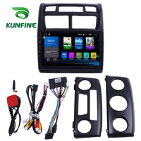 Octa Core 1024*600 Android 8.1 Car DVD GPS Navigation Player Deckless Car Stereo For KIA Sportage 2013 2017 Radio Headunit wifi
