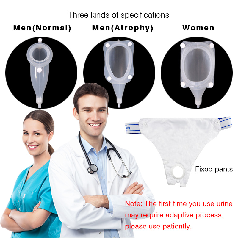 Hospital Dedicated Urinary Incontinence Urinal the Adults Urine Bag Men Women Elderly Bedridden Patients Urination Catheter female male urinary human female urinary system model female urinary organ system model human urinary system organ gasen sz021