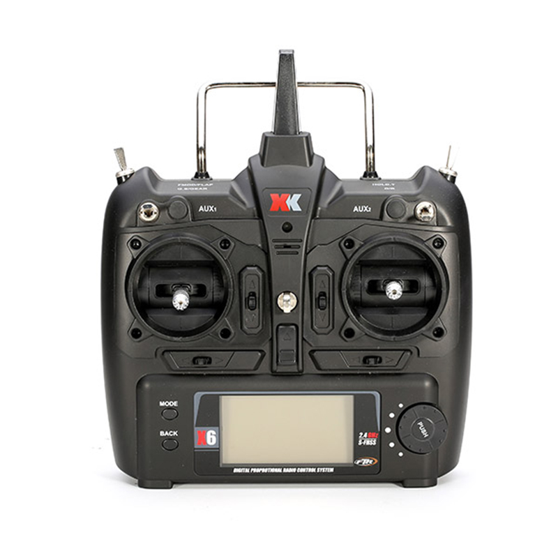 (In stock) XK X6 Transmitter for XK  k120 K100 K110 K123 K124 X350 RC Helicopter  Spare Parts remote controller wl toys 6ch rc helicopter wl xk k110 k123 k124 x350 remote control transmitter spare parts backup parts