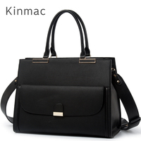 2019 New Brand Kinmac PU Leather Handbag Messenger Bag For Laptop 13 inch, Case For MacBook Air,Pro 13.3,Free Drop Shipping 008