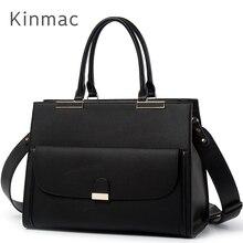"2020 Fashion Brand Kinmac Lady PU Leather Handbag Messenger Bag Laptop Bag 13 inch, Case For MacBook Air Pro 13.3"",Dropship 008"