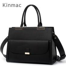 """2020 אופנה מותג Kinmac גברת עור מפוצל תיק שליח תיק מחשב נייד תיק 13 אינץ, מקרה עבור Macbook Air Pro 13.3 """",Dropship 008"""