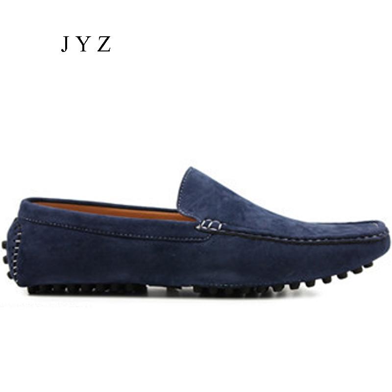 9ff567844 Распродажа, новая модная мужская повседневная обувь, мокасины без шнуровки,  обувь для вождения,
