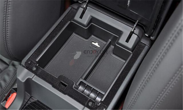 Caixa apoio de braço Central De Armazenamento Secundário Luva Titular Container Organizador Para a Descoberta de Land Rover Sport 2014 2015 Acessórios Do Carro