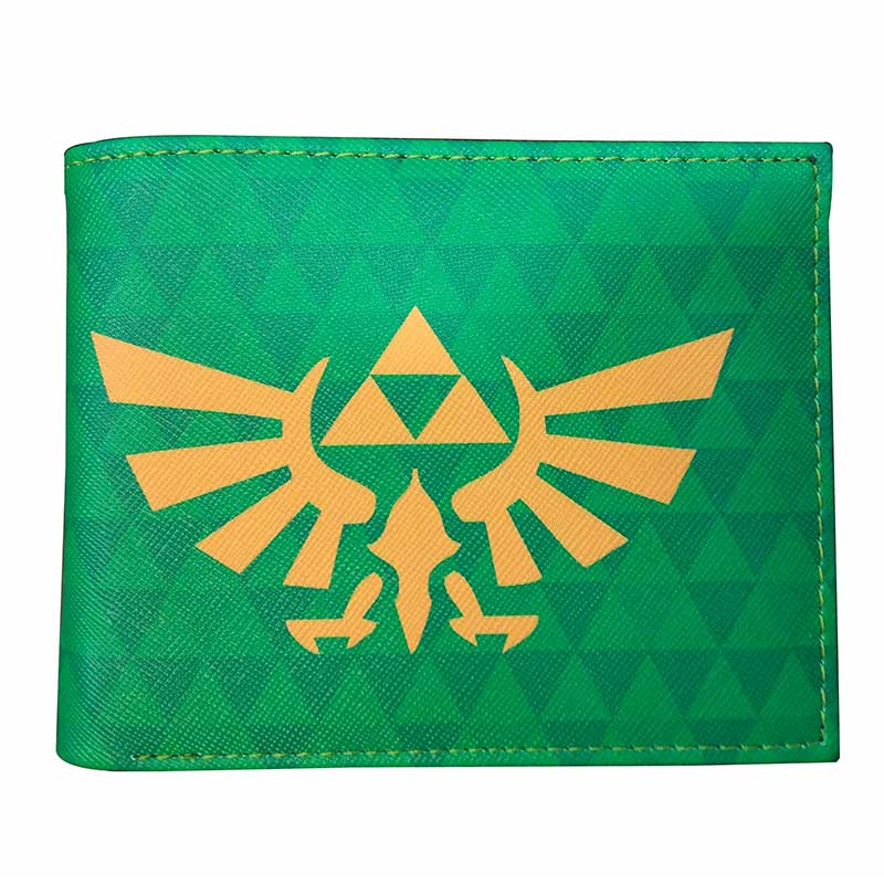 Fashion Designer Legend of Zelda Wallet Leather PVC Short Purse Gifts Kids Boy Girls Card Holder Money Bags Dollar Price Wallets games the legend of zelda wallet embossing logo leather short purse gifts teenager boy girl dollar price wallets with coin bags