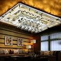 Современные хрустальные люстры  освещение для гостиной  спальни  отеля  дома  светодиодные люстры  световая лампа  lustre cristal techo luminaire