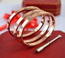 Новый Бесплатная доставка оптовых супер хорошее качество вечный кольцо браслет отвертка браслет Пара браслет ювелирные изделия 2013 Горячей продажи