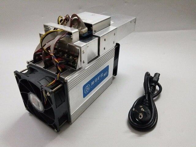 The Asic Bitcoin BTC BCC BCH Miner WhatsMiner M3X 11-12.5T/S 0.18 kw/TH better than Antminer S9 S9i T9 WhatsMiner M3 11.5T E9 3