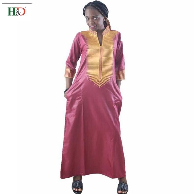 H & D συν μέγεθος αφρικανικές γυναίκες - Εθνικά ρούχα - Φωτογραφία 2