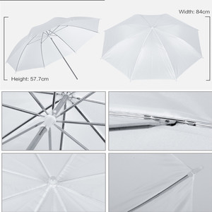 Image 5 - Комплект освещения для фотостудии 2x3 м Система поддержки фона с 4 светодиодными лампами зонт для софтбокса штатив