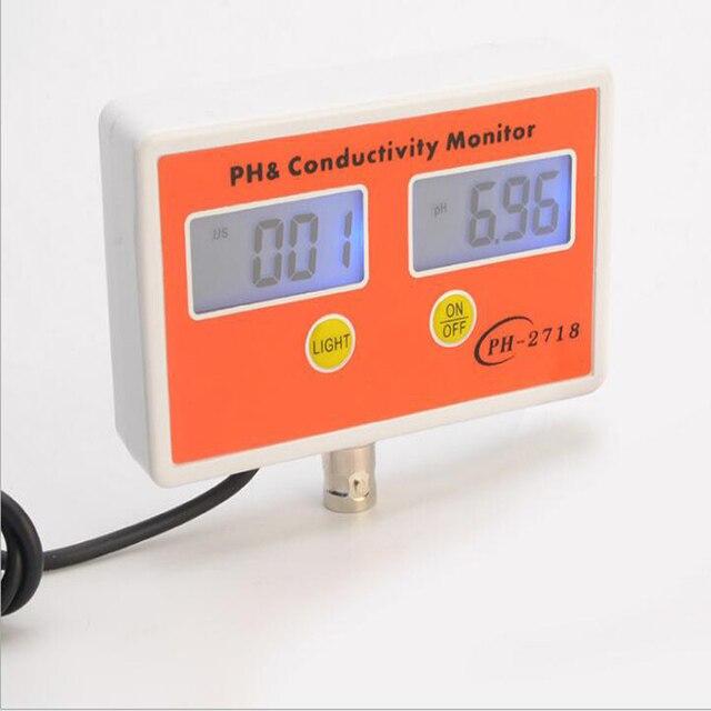 Multifunction Industry PH Meter Conductivity TDS Digital Ph Pen Tester  Water PH Professional Laboratory Aquarium Swimming