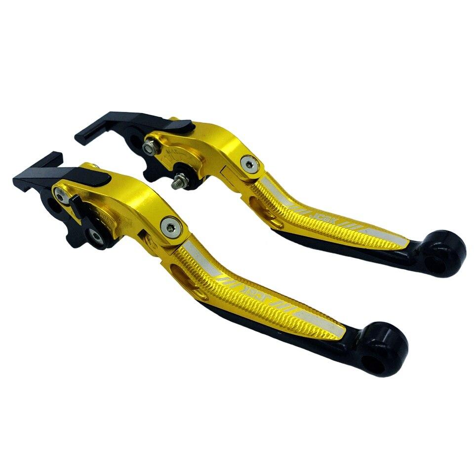 CNC Palancas de embrague de freno extensibles y plegables para motocicleta