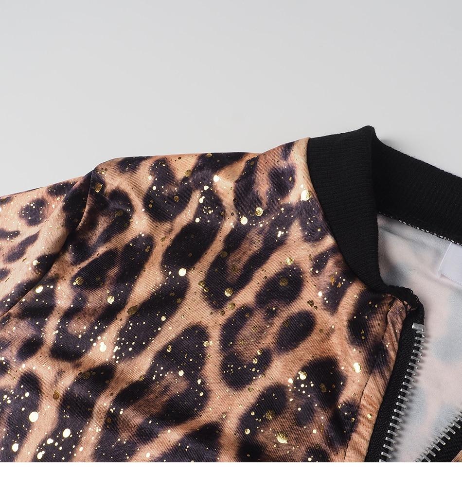 Print Bomber Jacket Women Flowers Zipper Up Retro Coat Spring Summer Long Sleeve Basic Plus Size Short Biker 69