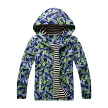 купить Waterproof Index 5000mm Baby Boys Jackets Warm Windproof Child Coat Children Outerwear Kids Clothing For 3-12 Years Old дешево
