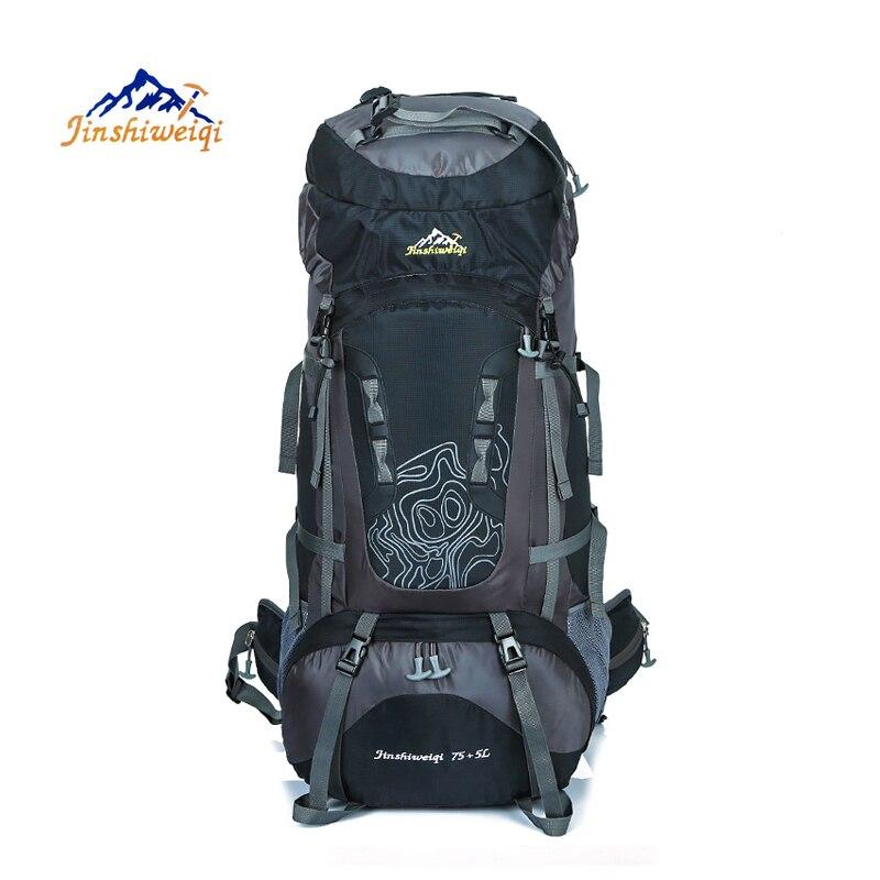 80L sac à dos extérieur unisexe voyage escalade sacs à dos sac à dos étanche en Nylon sac de Camping randonnée sac à dos