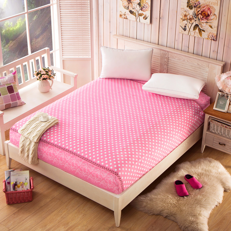 Home Textile Colored Mattress Cover Cartoon Matras Ed Sheet Queen Size Zd024 In Covers Grippers From Garden On Aliexpress