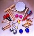 Kingtoy Niños kits de instrumentos Orff juguete infantil de madera 14 estilo por el conjunto de instrumentos musicales