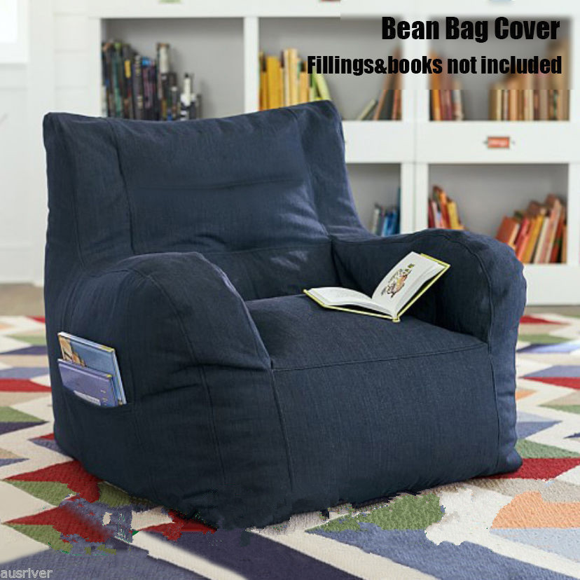 Luxury bean bag COVER for Adult bean bags Armchair bean bag sofa with Book Pocket summer casual bodycon dresses