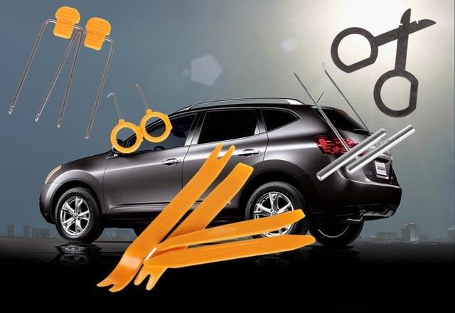 12 stks auto removal tools auto dvd speler kit interieur plastic trim dashboard installatie verwijderen