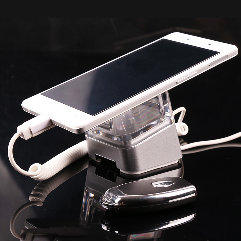 Acrylic mobile phone security stand cell phone display allarm iphone retail security ipad display holder tablet burglar alarm 10xmobile cell phone security display stand tablet pc burglar alarm holder with secure cable for iphone ipad samsung andriod