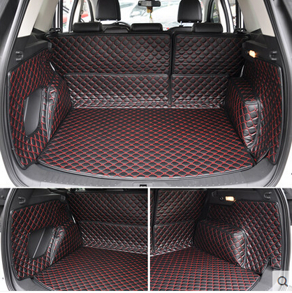 good mats special trunk mats for ford escape 2016 waterproof cargo liner mats boot carpets for. Black Bedroom Furniture Sets. Home Design Ideas