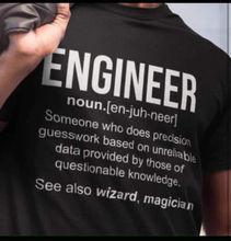 DeMina INGENIEUR T-shirt männer lustige INGENIEUR geburtstag neuheit gedruckt t USA größe s-3xl