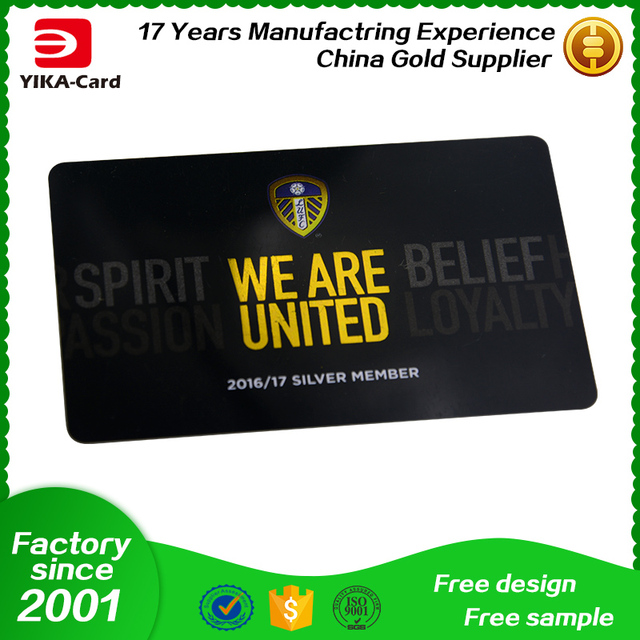 MOQ 500PCS Customized PVC card gift card direct factory price full color printing