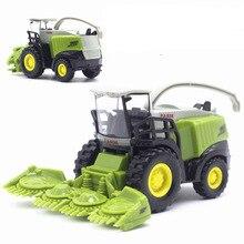 Сплав, Сельскохозяйственный комбайн, модель автомобиля, 1:42, сплав, детские машины, мини-игрушка, автомобиль, фермер, тракторы, масштаб автомобиля, мини-трактор, игрушка