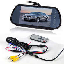 7″ Car LCD Media Monitor TV/DVD/GPS Screen+General CCD Rear View Parking Camera