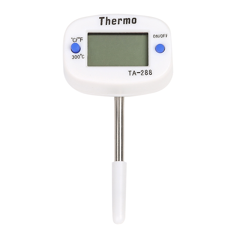 Ta288 Short Type 50mm Food Food Stainless Steel Probe Thermometer Electronic Digital Display Liquid Grill Thermometer