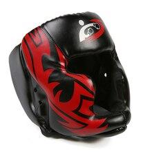 Свободный размер Муай Тай Бокс тхэквондо ММА шлем Защита головы каратэ спарринг кикбоксинг защитные головные уборы DDO