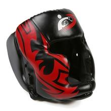 Новинка 2018 года бесплатная размеры Муай Тай Бокс тхэквондо MMA защитный шлем карате спарринг Kickboxing защитный головные уборы DCE
