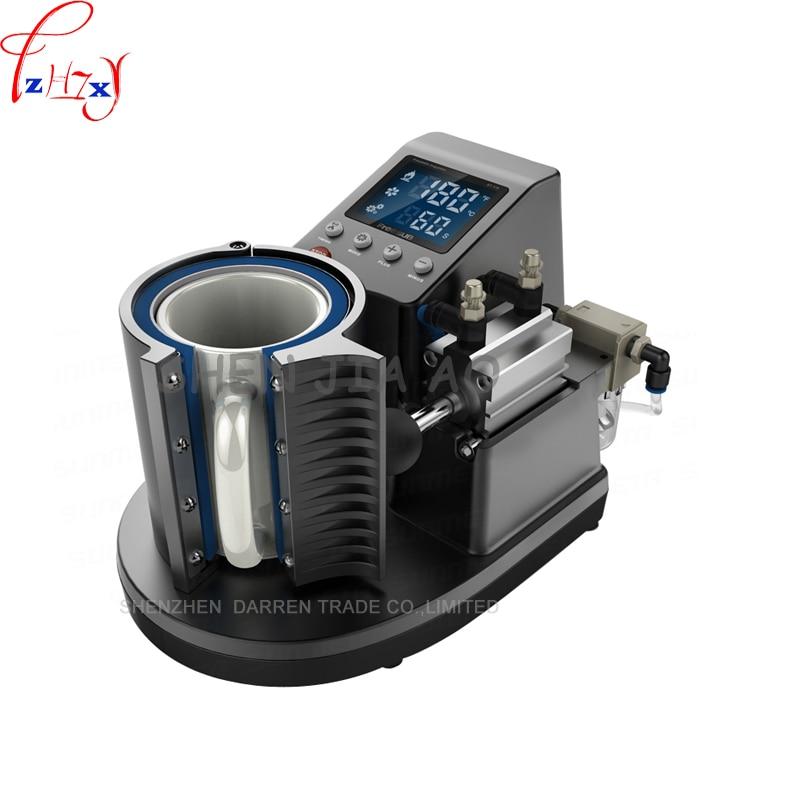 2015  Mini Pneumatic Vertical Multi-function Heat Transfer Press Thermal Printing Mug Cup Machine ST110 digital heat transfer baking cup machine single display quaff