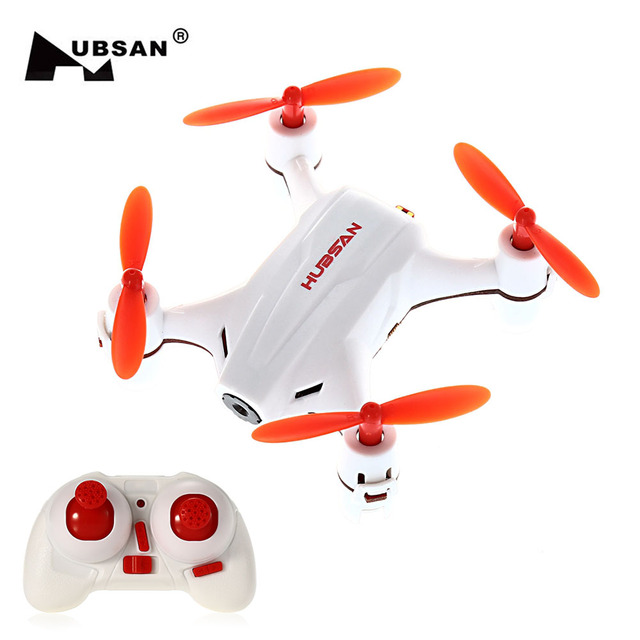 HUBSAN H002 RC Dron Nano Q4 Mini Drone with HD Camera 2.4GHz...