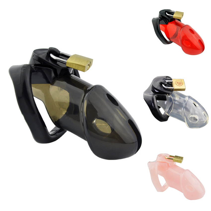 Male Chastity Device with 3 Size Penis Rings,Cock Cages,Penis Lock,Chastity Belt,Adult Games Slave Bondage Sex Toys For Men