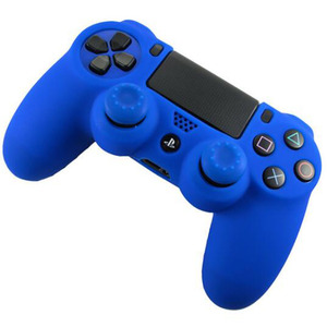 Image 2 - Rubber Gamepad Joystick Thumbstick Grip Cap Protective Skin Cover Case For Sony Playstation Dualshock 4 PS4 Slim Pro Controller